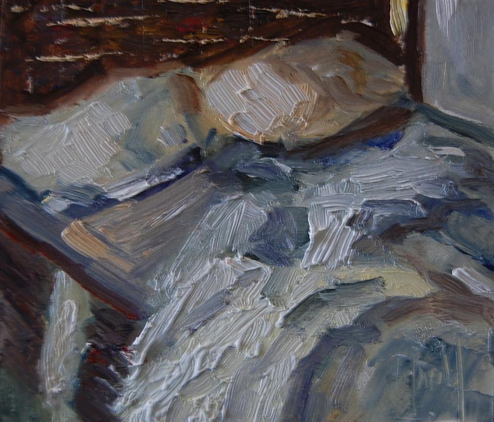 """Morning After"" original fine art by Deborah Harold"