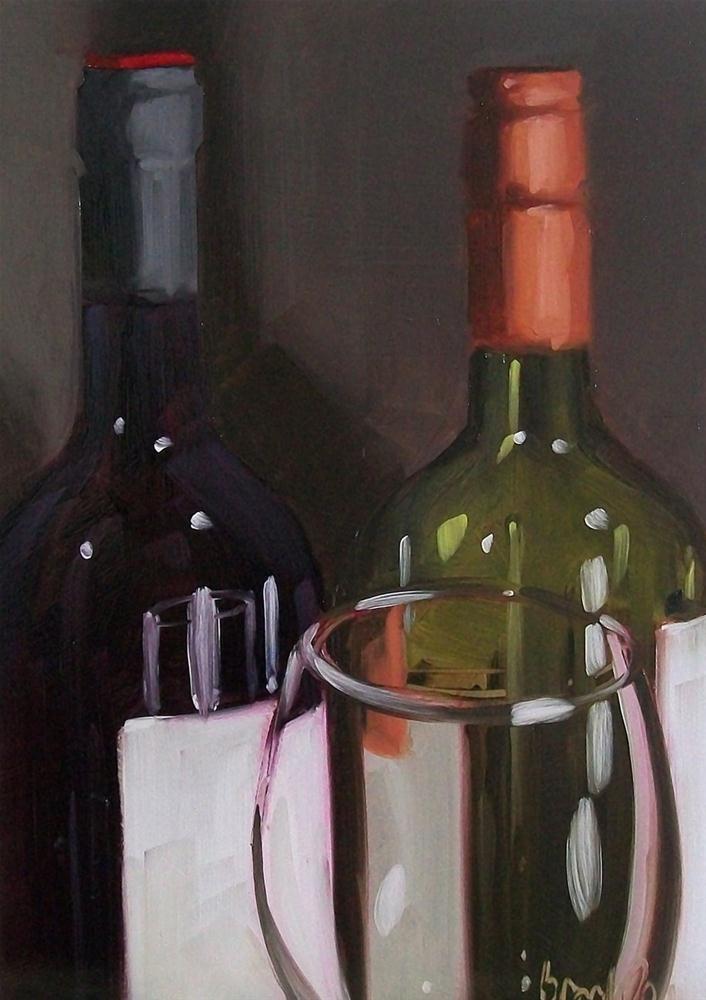 """wino 24"" original fine art by Brandi Bowman"