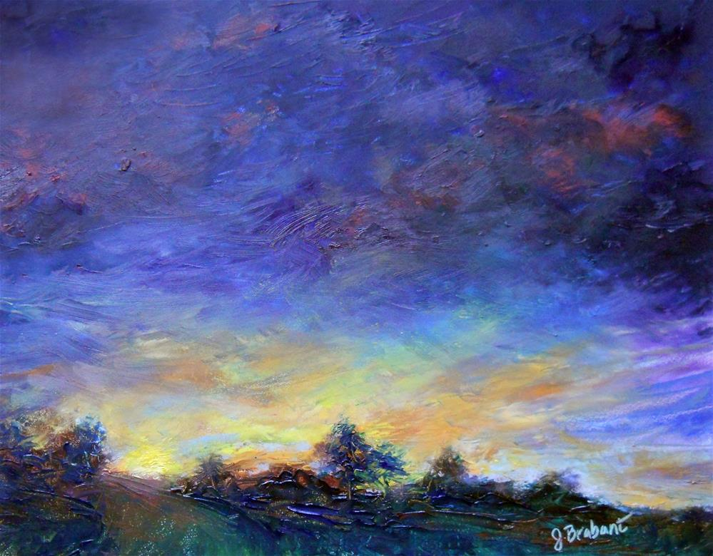 """Blue Hour"" original fine art by Jill Brabant"