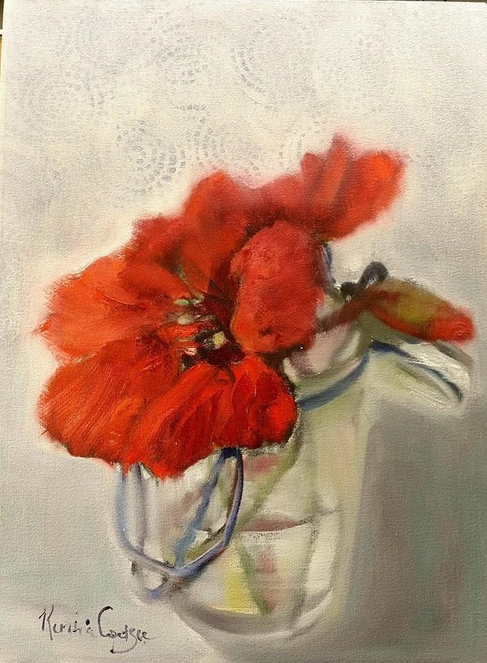 """Simplicity"" original fine art by Rentia Coetzee"