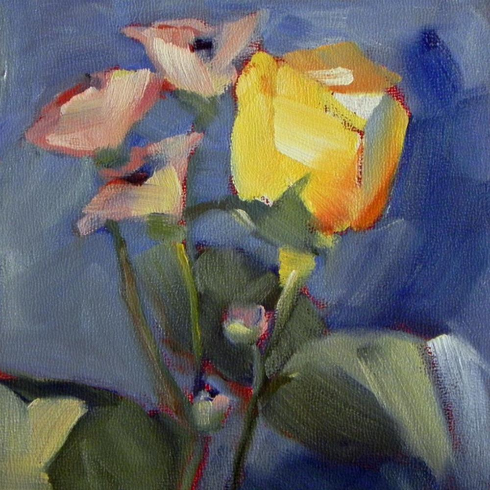"""Flowers #1"" original fine art by Cheryl Wilson"