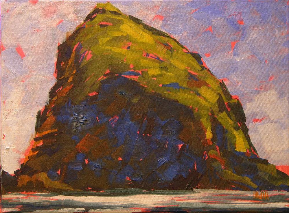 """North of Haystack"" original fine art by Mary McInnis"