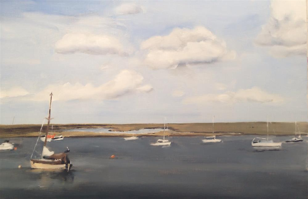 """Wells-next-the-sea, Norfolk"" original fine art by James Coates"