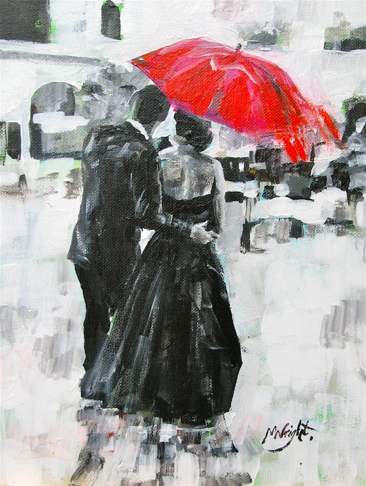 """Slipped Away"" original fine art by Molly Wright"