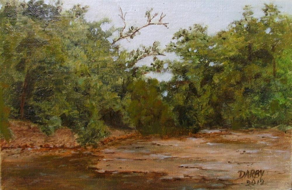 """Morning Creek"" original fine art by Lynn Darby"