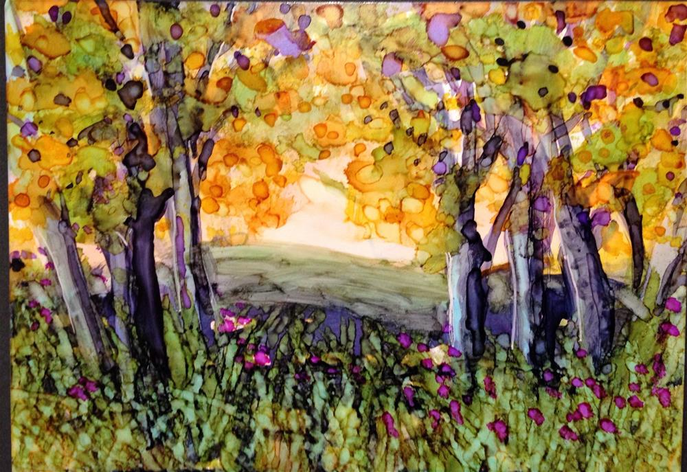 """Cuyahoga Valley"" original fine art by Kelly Alge"