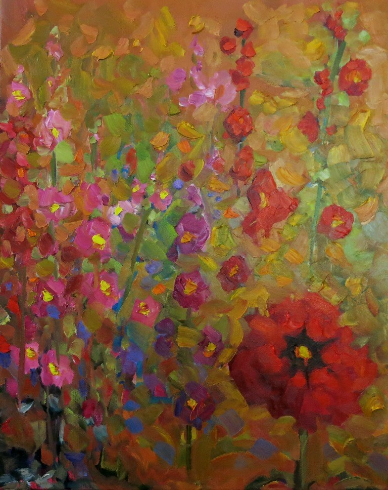 """FLORACION"" original fine art by Dee Sanchez"