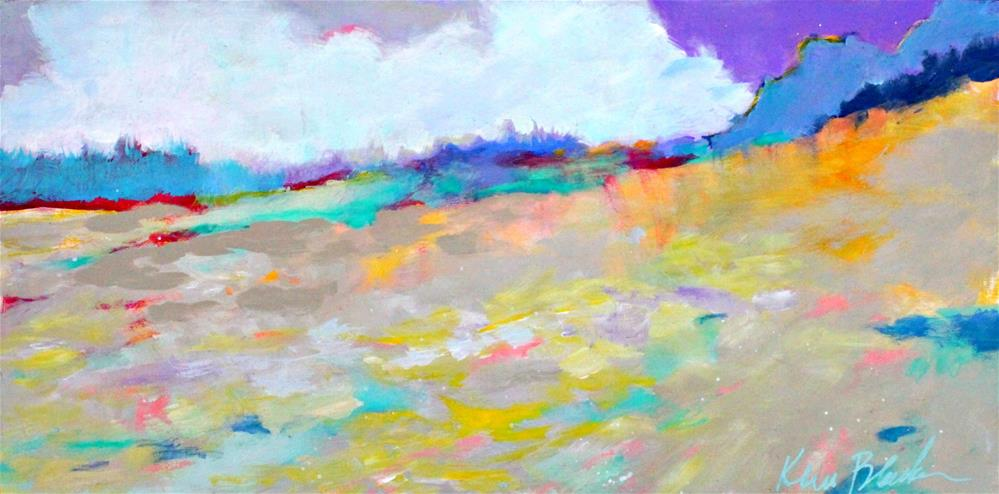 """Summer Fields "" original fine art by Kerri Blackman"