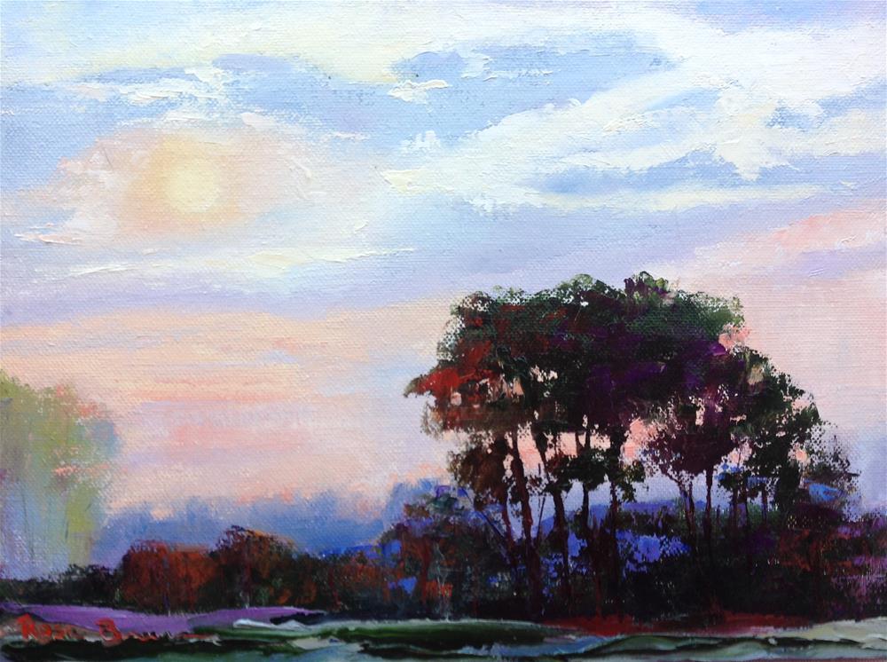 """""""Morning LIght"""" original fine art by Rose Brenner"""