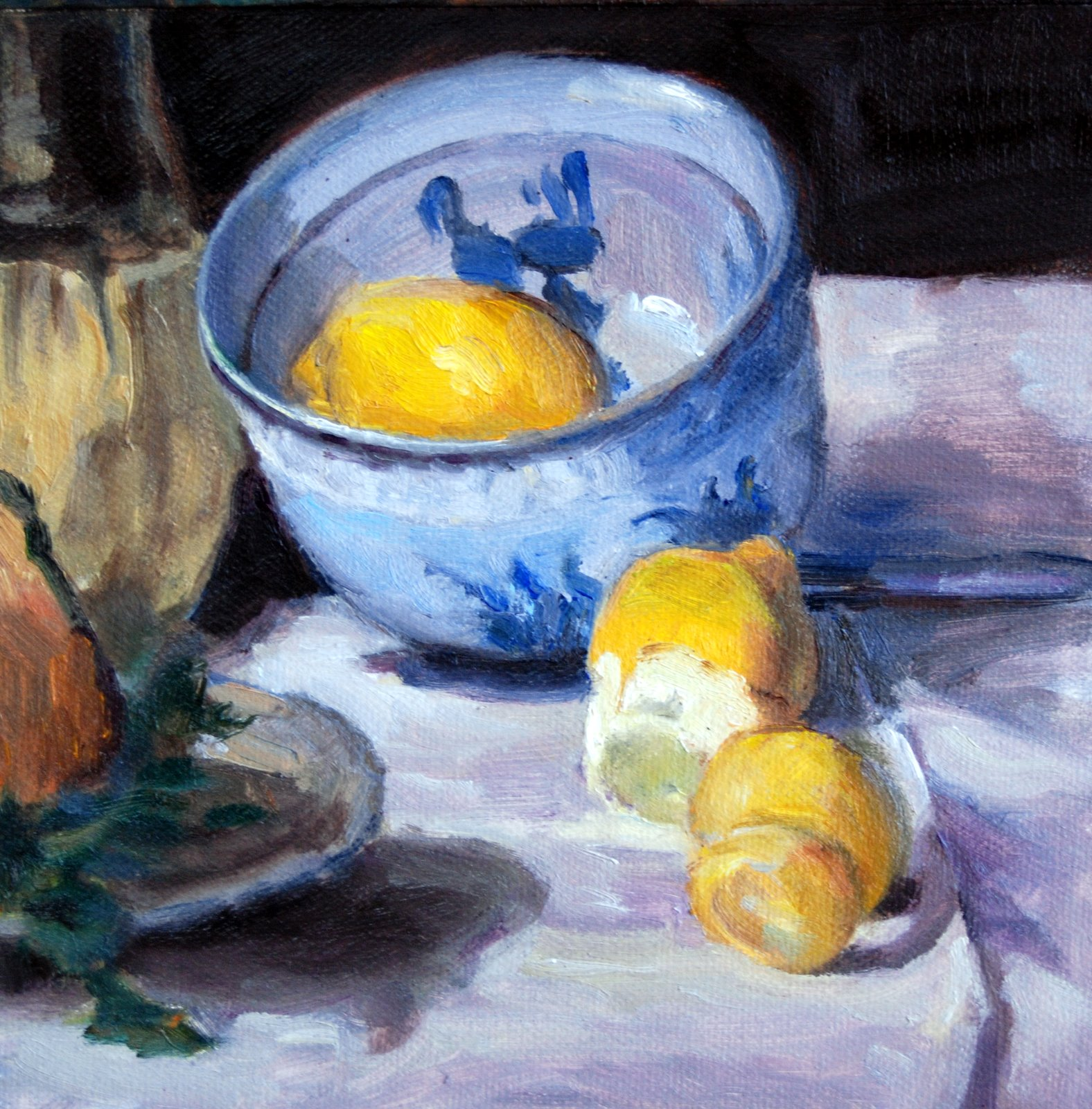 """Manet Copy"" original fine art by Julie Ford Oliver"