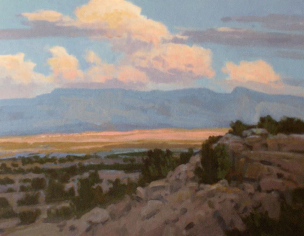 """East of the Chisos"" original fine art by David Forks"