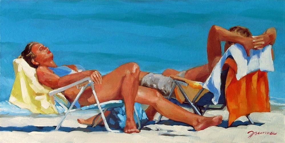 """Forgetting Winter"" original fine art by Joanna Bingham"