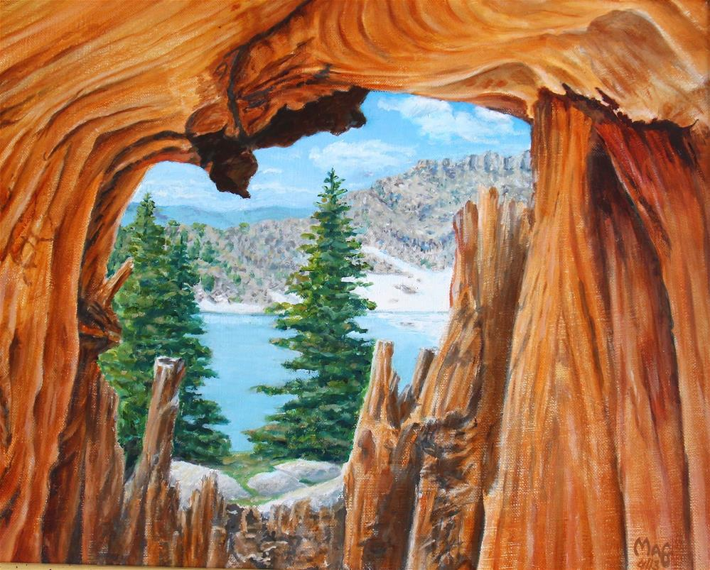 """High Sierra Wonder"" original fine art by John F McGowan"