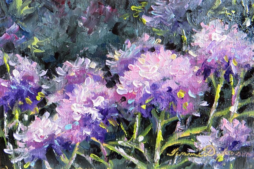 """Blooming Hydrangea"" original fine art by Tammie Dickerson"
