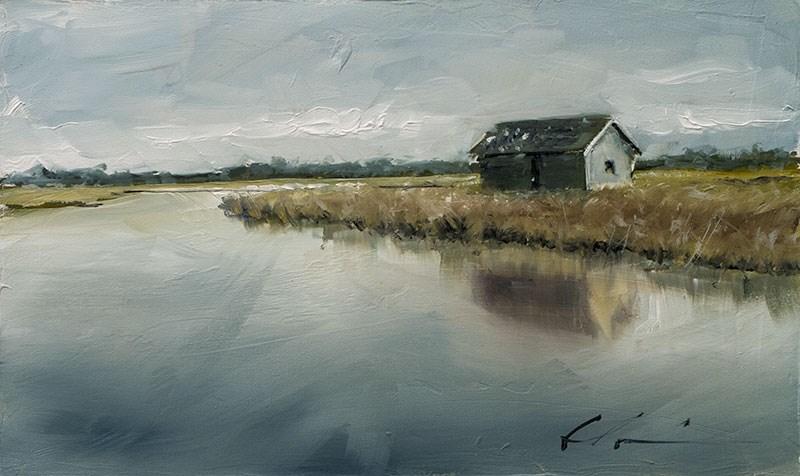 """""""Landscape Challenge #23"""" original fine art by Clair Hartmann"""