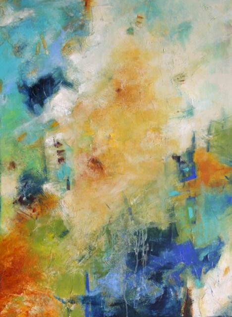 """Seraphic"" original fine art by Elizabeth Chapman"
