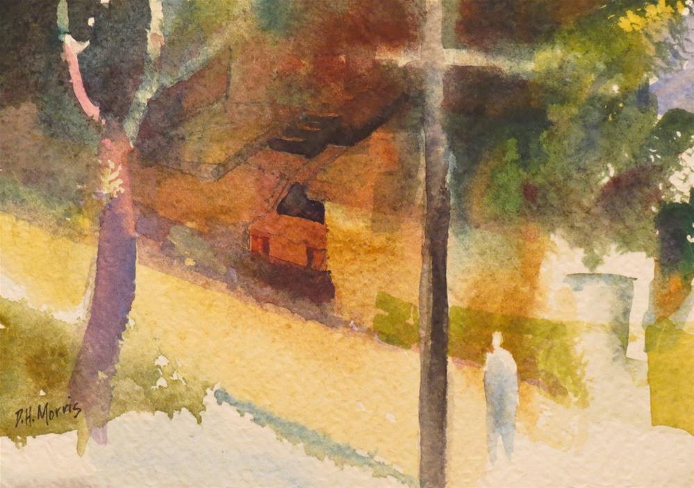 """Two Trees"" original fine art by Dann Morris"