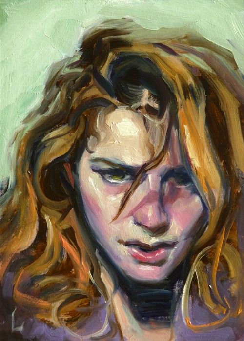 """Hurting"" original fine art by John Larriva"