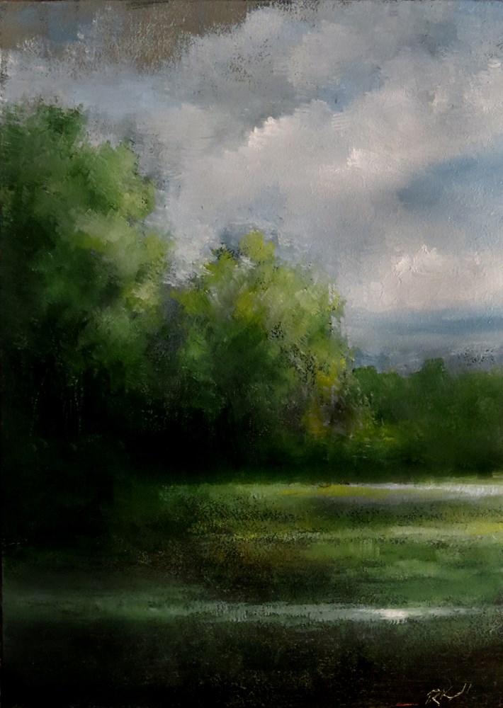 """Recent Rain"" original fine art by Bob Kimball"