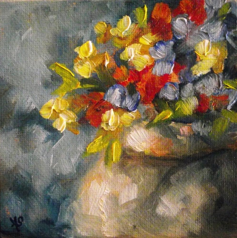 """Hooray It's Spring"" original fine art by Angela Sullivan"
