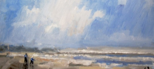 """Ocean Breeze"" original fine art by Astrid Buchhammer"
