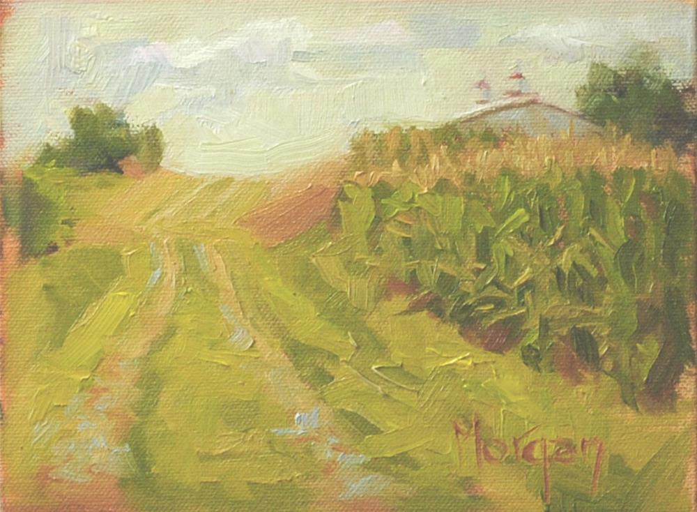 """Ayer Farm, Kentucky"" original fine art by Cecile W. Morgan"