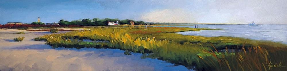 """Life On Marsh"" original fine art by Karin Jurick"