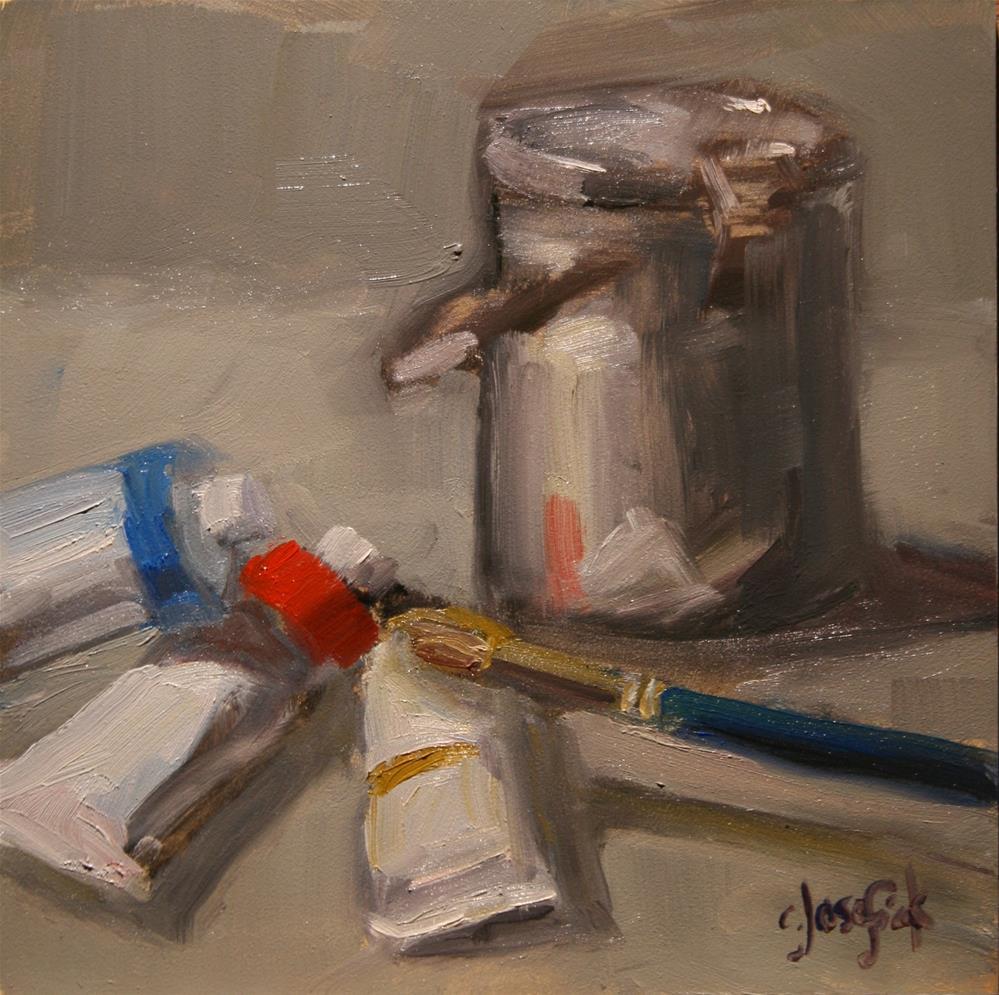 """Zorn Palette"" original fine art by Carol Josefiak"
