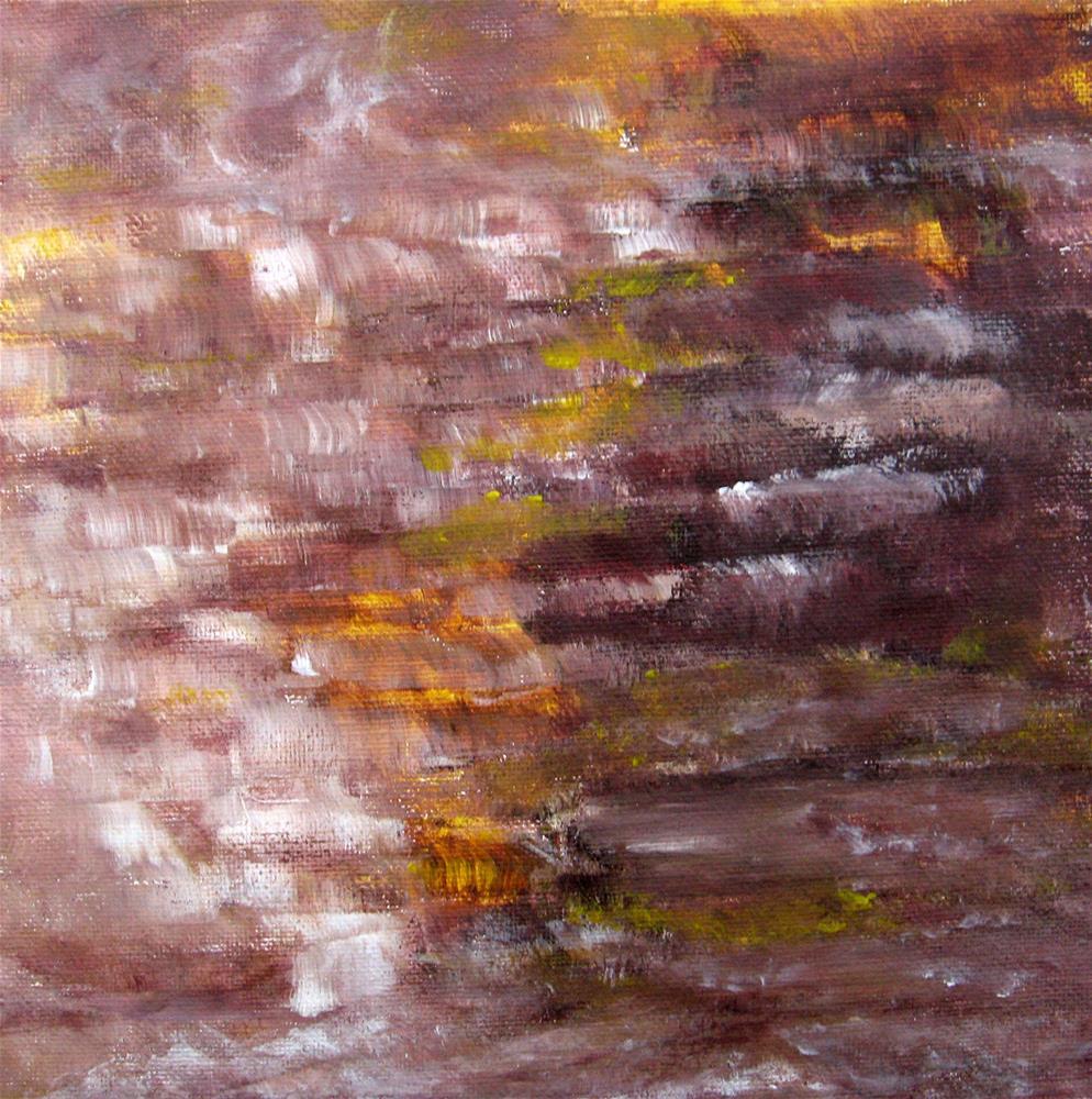"""Melting Lava Flow"" original fine art by Alina Frent"