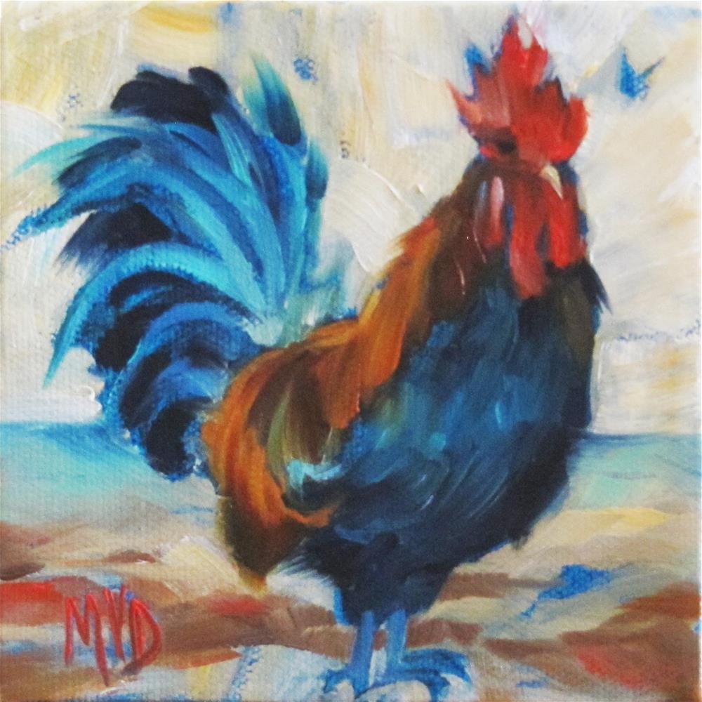 """""""Proud Ben"""" original fine art by Mary  Van Deman"""