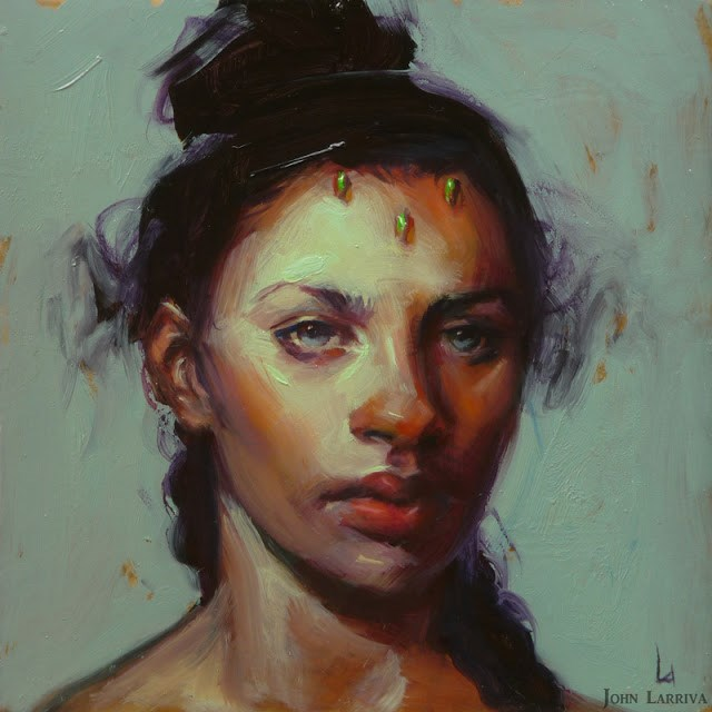 """Emerald Queen"" original fine art by John Larriva"