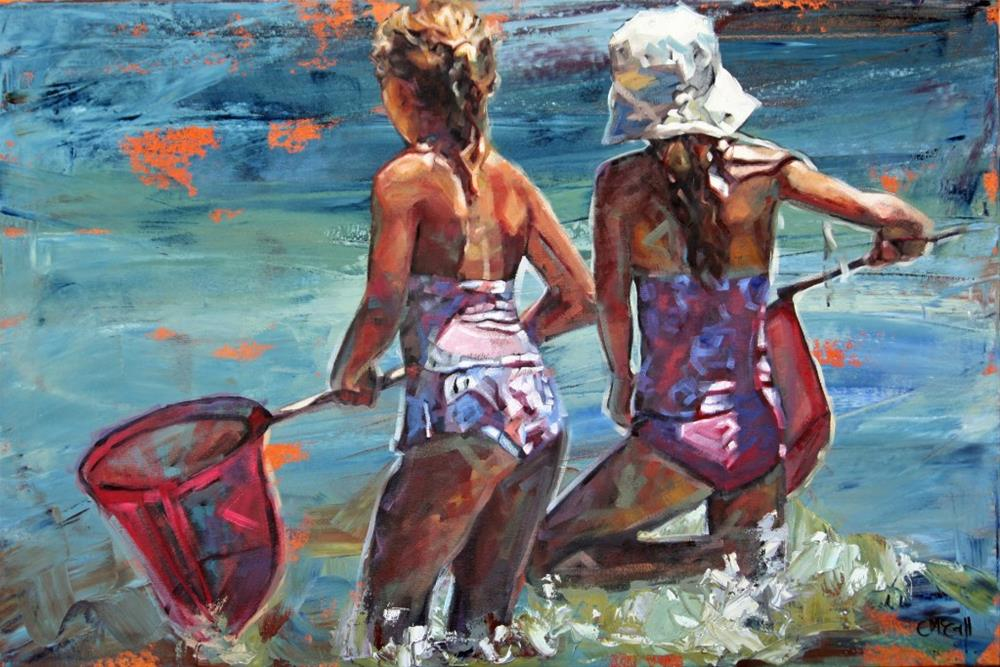 """Shallow Water Treasures"" original fine art by Claire McCall"