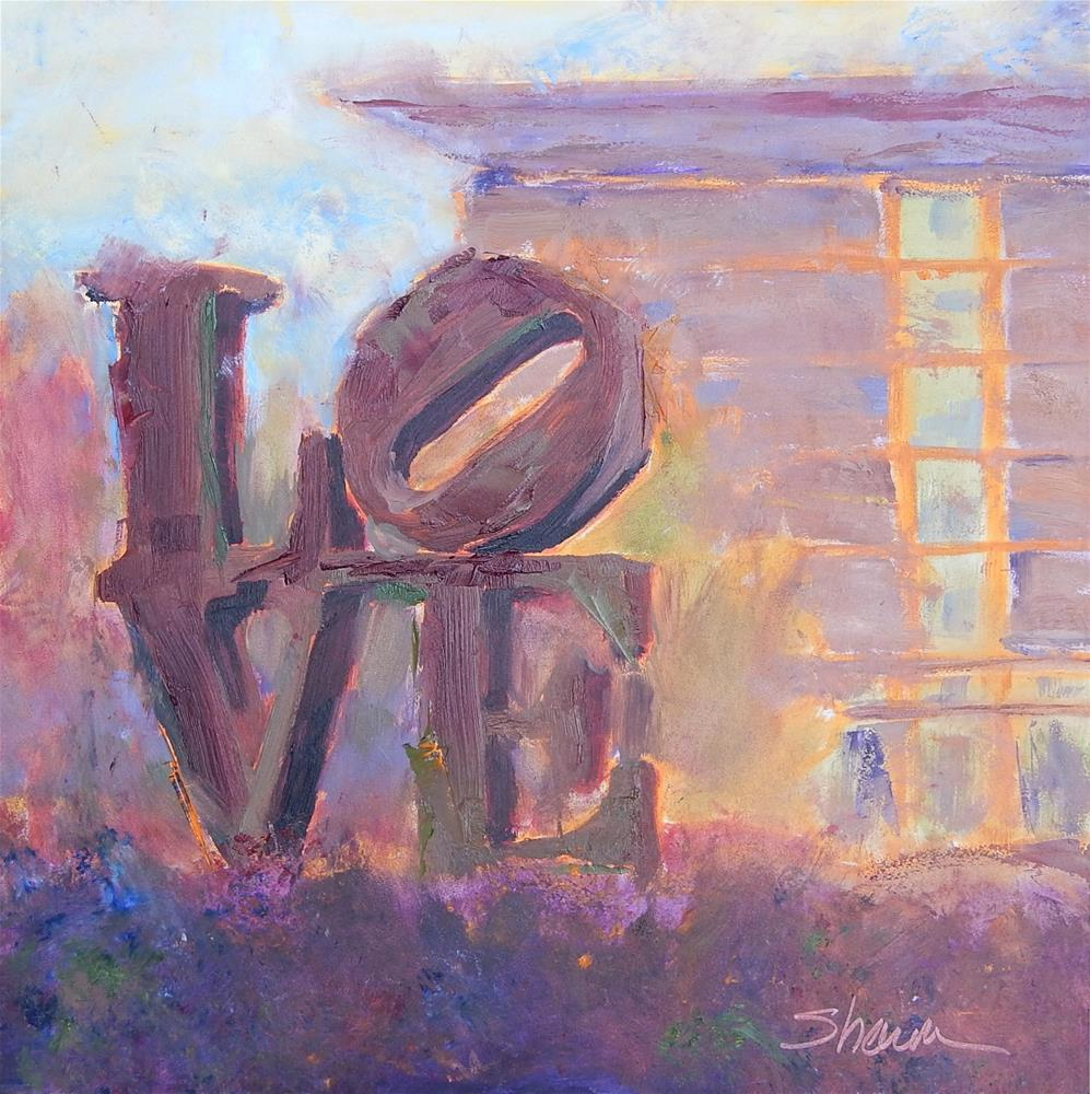 """Love"" original fine art by Shawn Deitch"