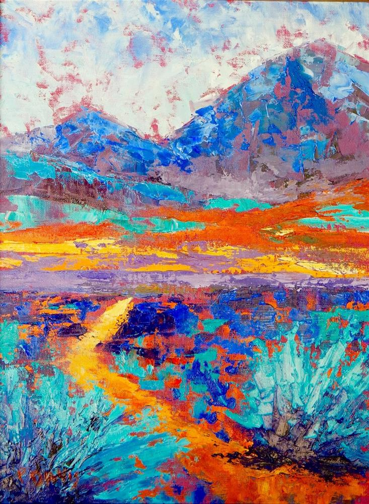 """Celebration of Our Mountains"" original fine art by Phyllis Davis"