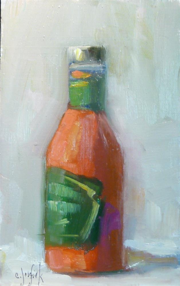 """Condiments give us choices"" original fine art by Carol Josefiak"