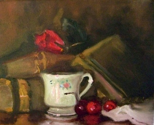 """""""Still Life"""" original fine art by Lori Jacobs - Farist"""