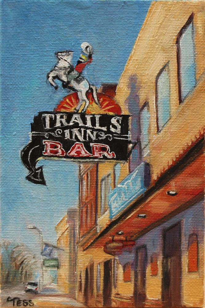 """Happy Trails- Van Halen"" original fine art by Tess Lehman"