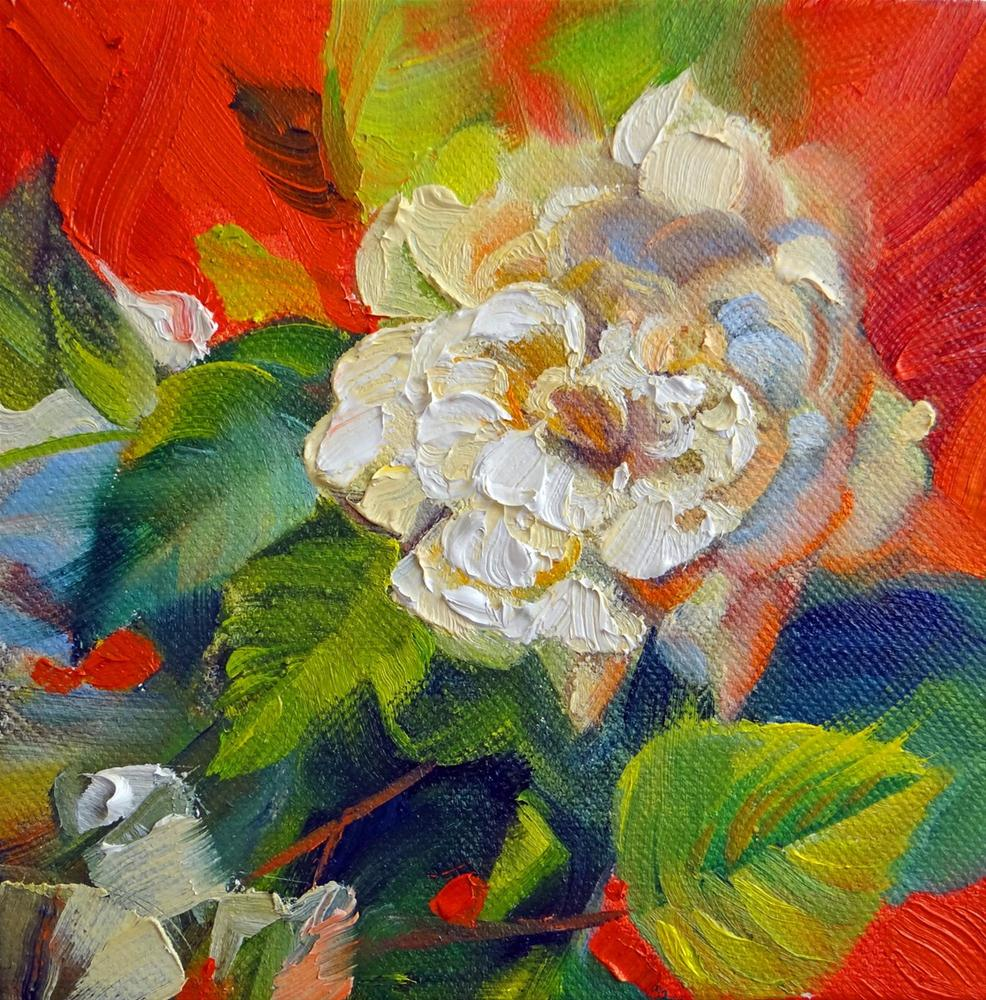 """Gardenia for a Mother"" original fine art by Nancy Paris Pruden"