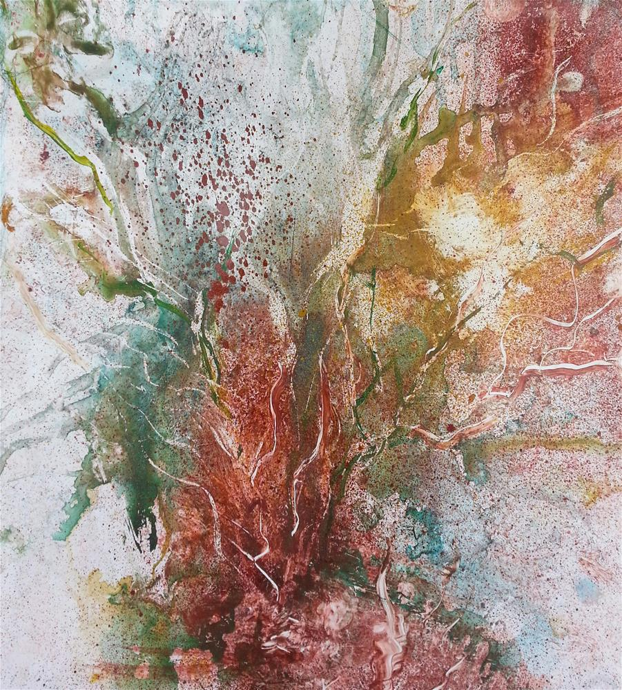 """Roots"" original fine art by Becky Chappell"