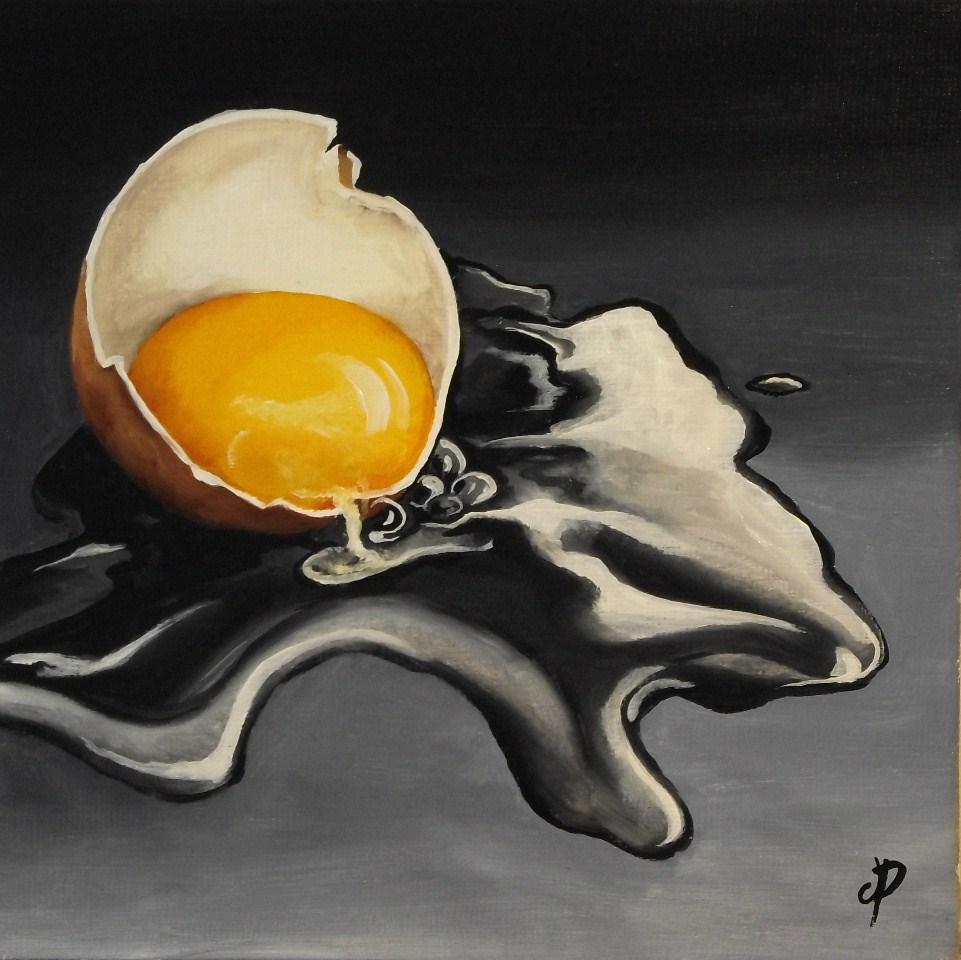 """Egg!"" original fine art by Jane Palmer"