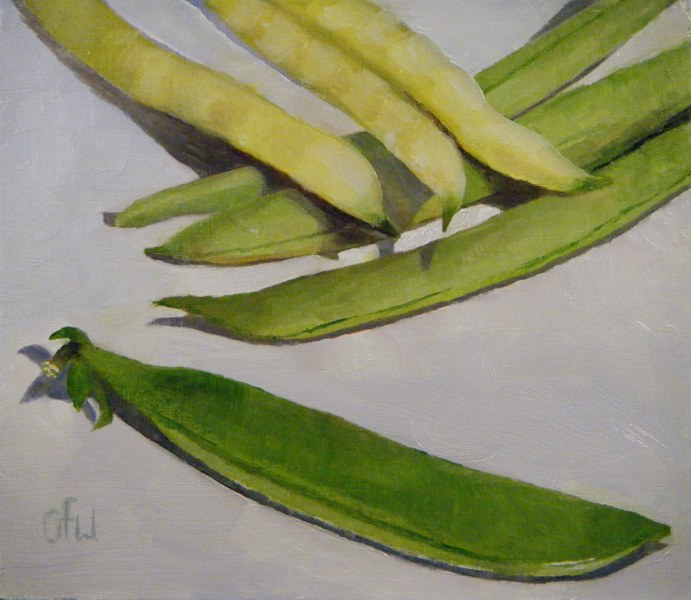 """Beans and Peas"" original fine art by Gary Westlake"