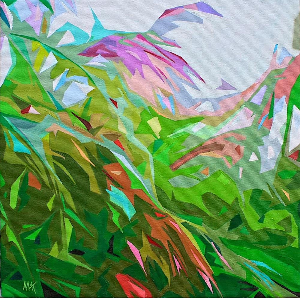"""Deconstructed Grass"" original fine art by Mary Anne Cary"