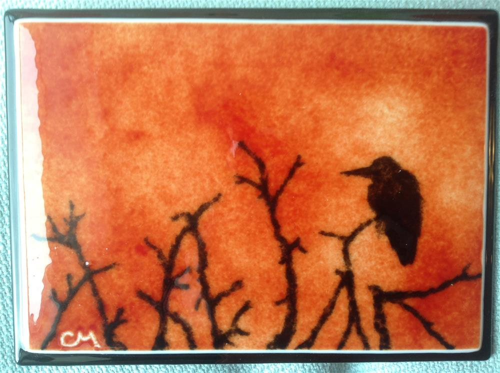 """Roosting"" original fine art by Calloway Meiners"