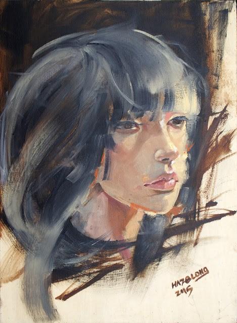 """Asa II"" original fine art by Haze Long"