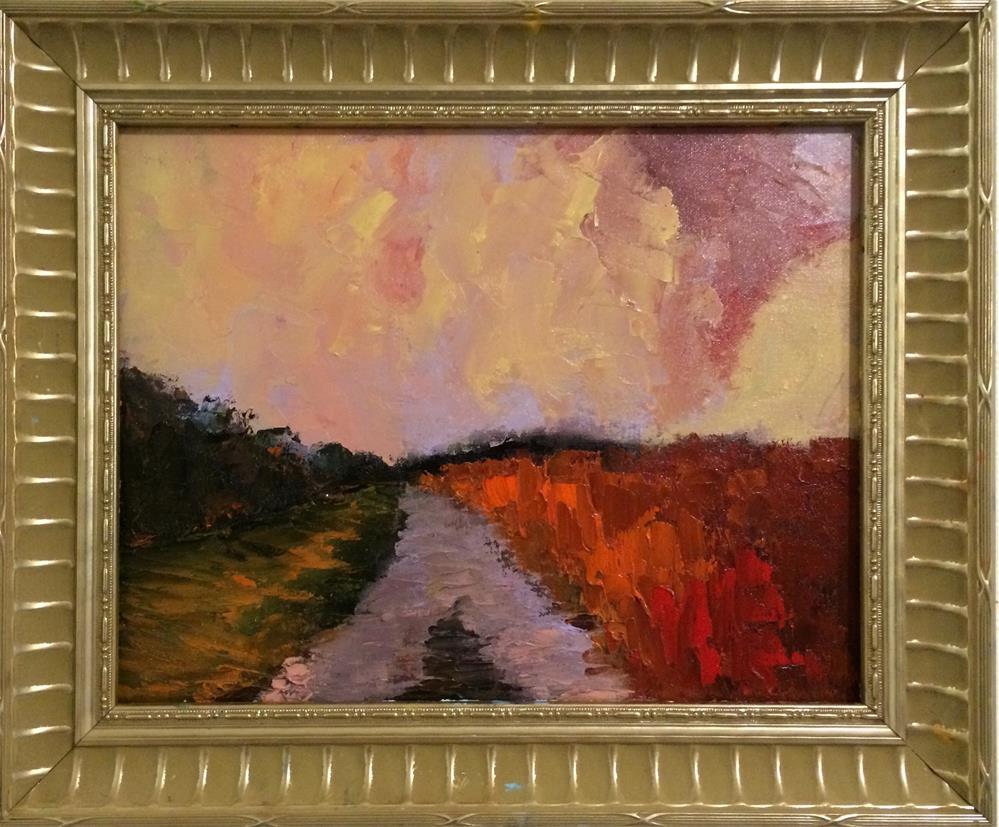 """Scenic Pathway"" original fine art by Ramya Sarveshwar"