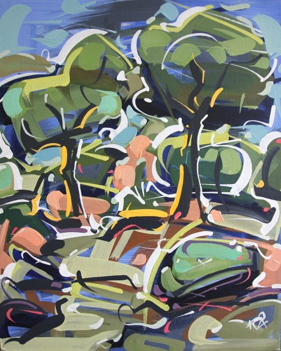 """Landscape Exploration 21"" original fine art by Roger Akesson"