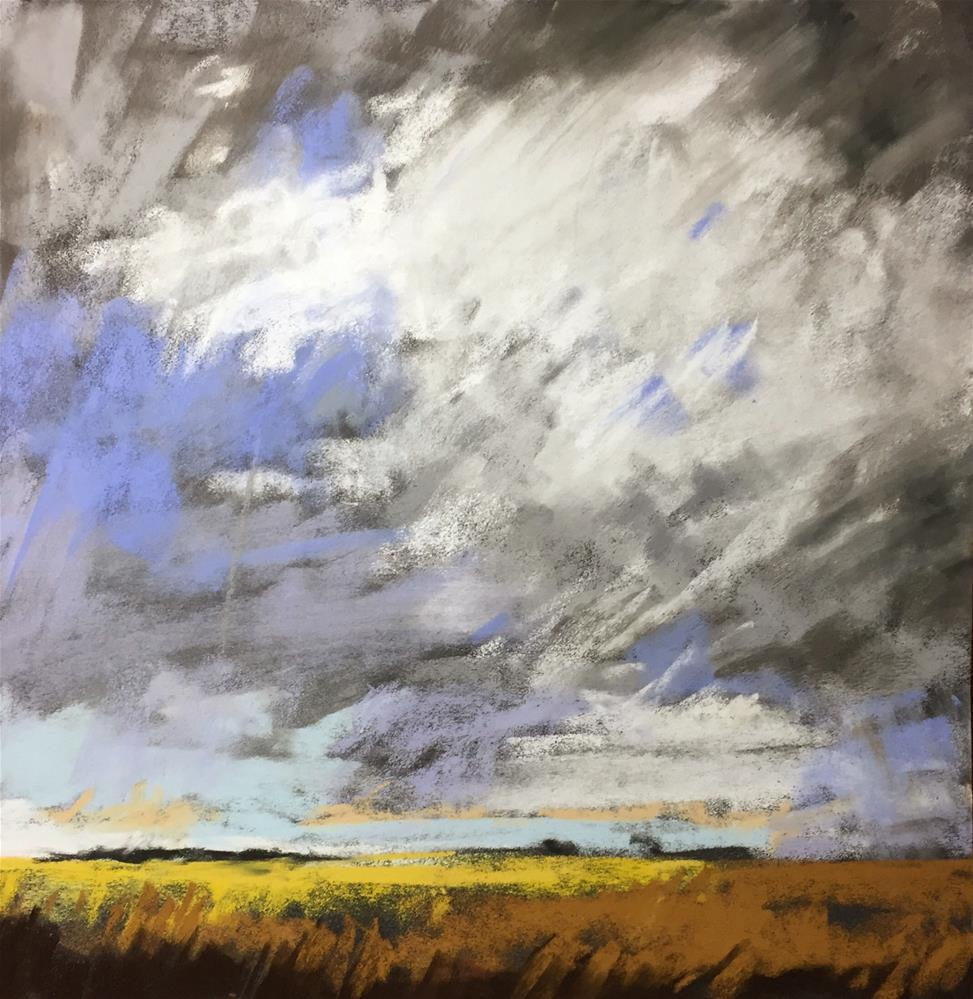 """Looming Storm"" original fine art by Sherri Cassell"
