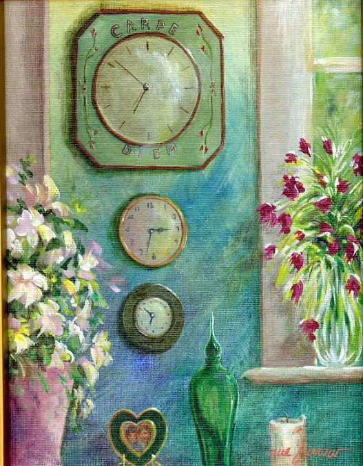 """Seize the Day II"" original fine art by Sue Furrow"