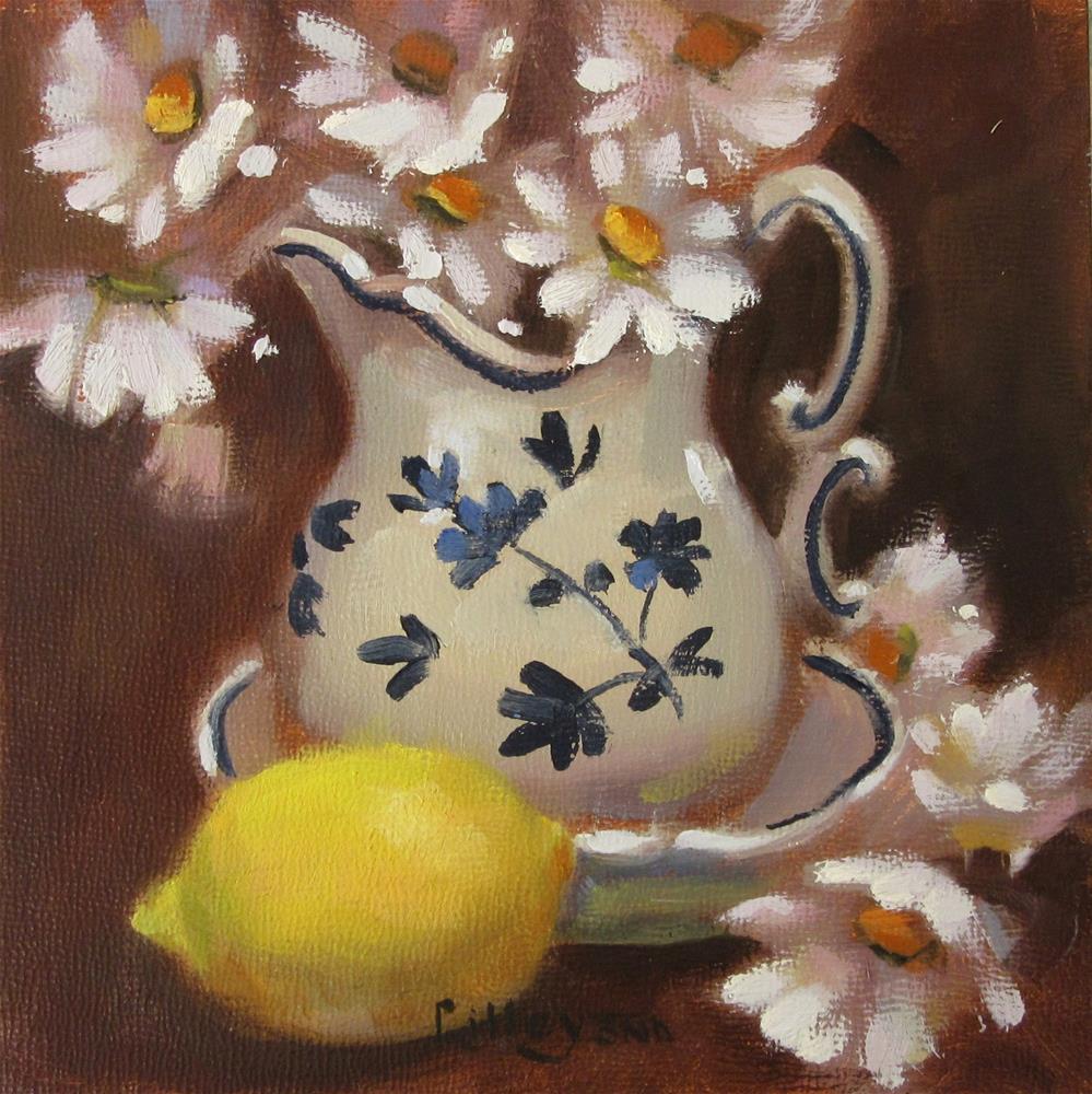 """Lemon Zinger"" original fine art by Maresa Lilley"