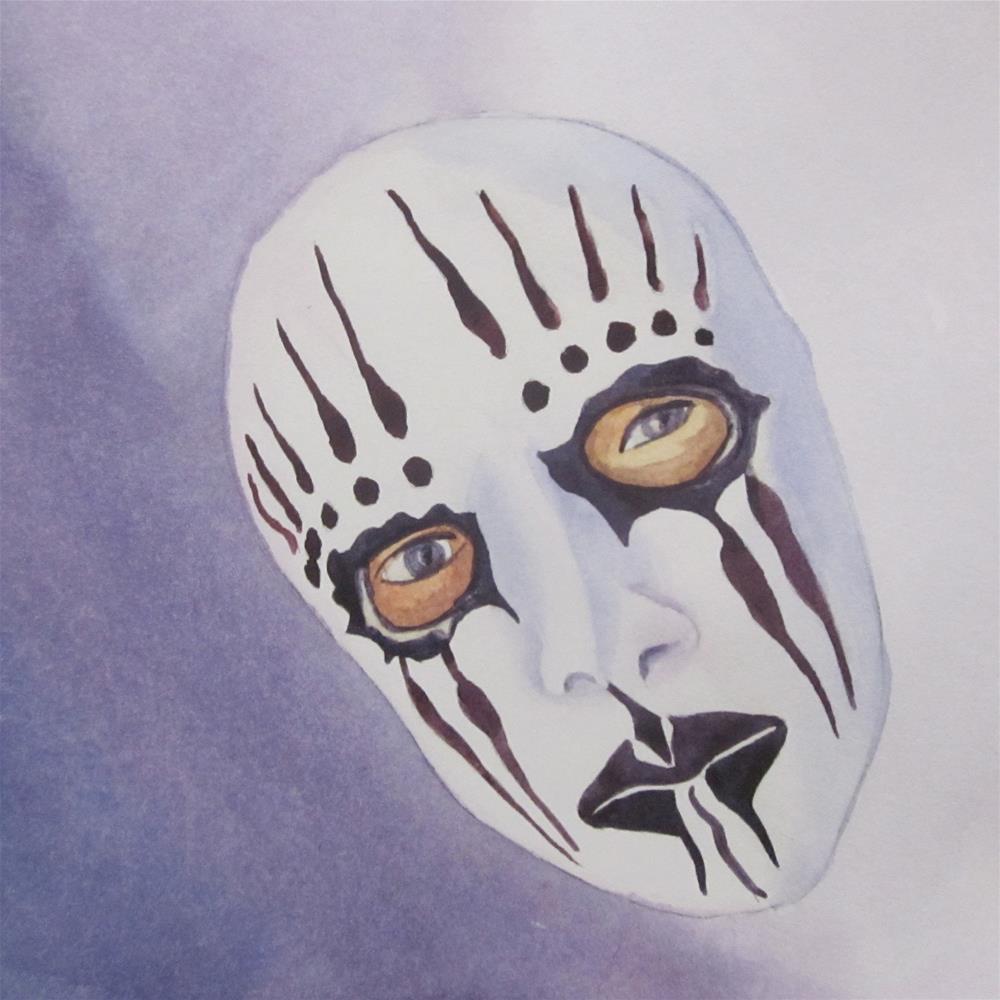 """Mask I"" original fine art by Teresa Beyer"